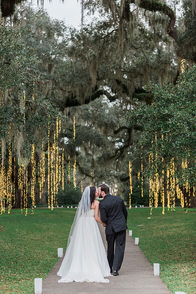 Emily adam brookgreen gardens wedding row grand strand for Adam and eve salon austin