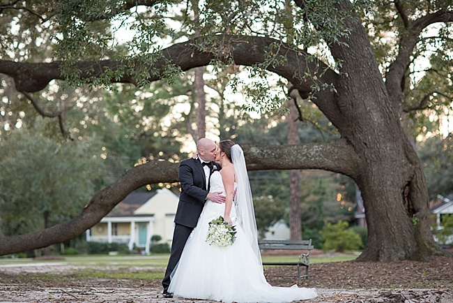 Post image for Dana & John {Winyah Indigo Society Hall}